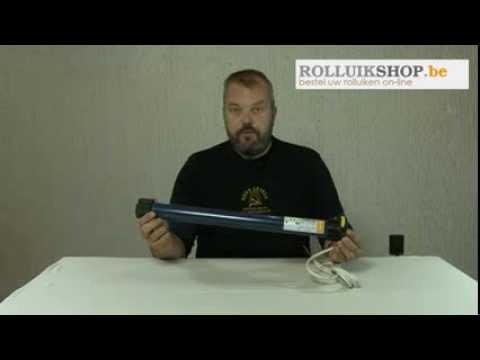 Hoe zet je een adapterset op een Somfy motor