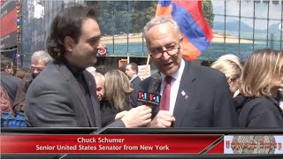 Chuck Schumer, Senior U.S. Senator from New York, talks about Armenian Genocide