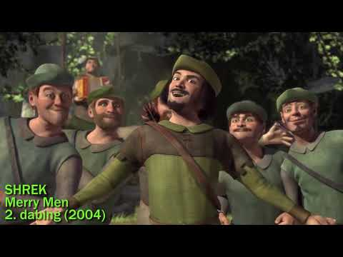 Shrek - Merry Men - 2. dabing / dubbing (2004 CZECH Scene) [HQ]