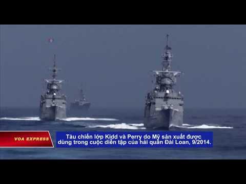 Tàu Mỹ có thể ghé Đài Loan, Trung Quốc phản đối видео