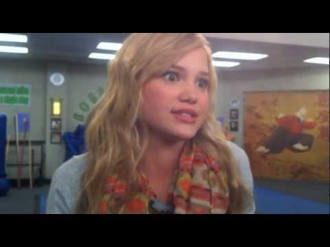 """Olivia Holt from """"Kickin' It"""""""
