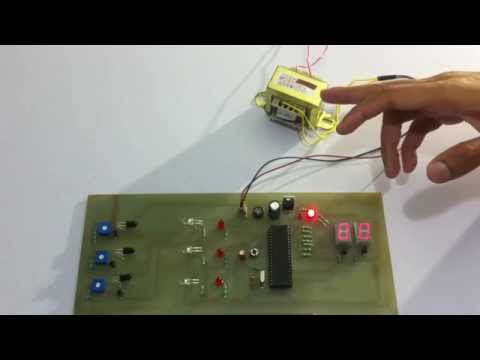 Object Counting Using 7 Segment Display