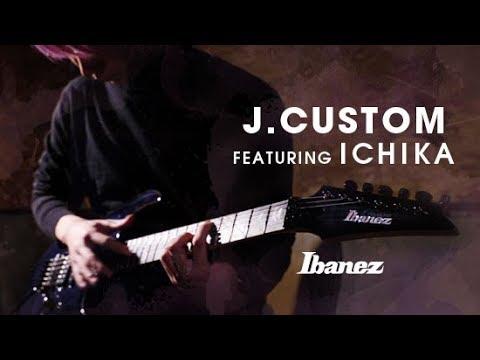 Ibanez j.custom Electric Guitar featuring ichika