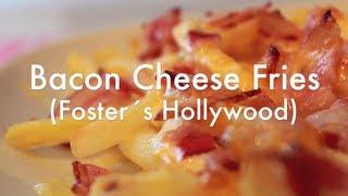 Patatas Fritas Estilo Foster Hollywood - BACON CHEESE FRIES - Receta Súper Fácil