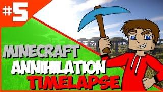 #5 [Minecraft Annihilation Timelapse] ► Epic Strenght Rush/HD