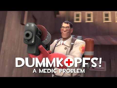 medic - Fed-up with his team's recent decline in performance, the RED Medic decides to take matters into his own hands and starts going on a killing spree on his own...