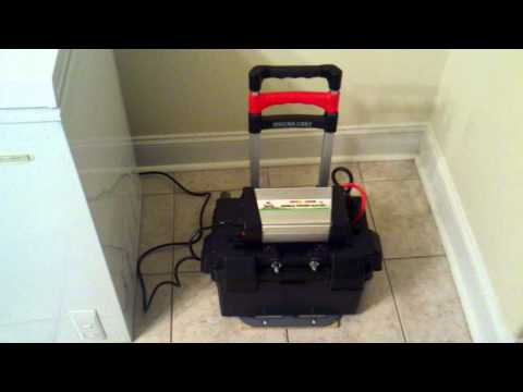 DIY - Portable Solar Power - The Practical Freezer Test - PART 1 ...