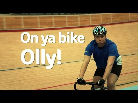 On your bike Olly! | Clash of the Titans