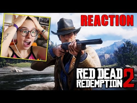 REACTION RED DEAD REDEMPTION 2 GAMEPLAY ITA