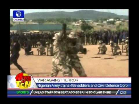 Nigerian Army Trains 498 Soldiers And NSCDC On Counter Terrorismounter