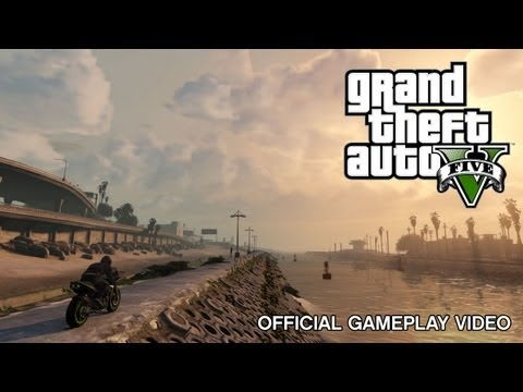 GTA gameplay - Grand Theft Auto V is coming September 17, 2013. Pre-order now and visit www.rockstargames.com/V for more details. ESRB Rating Pending: May contain content i...