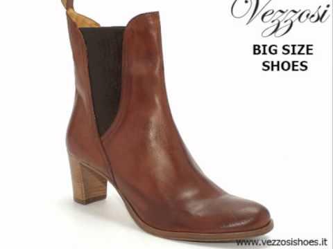 Stivali da donna grandi misure - Vezzosi Scarpe Grandi