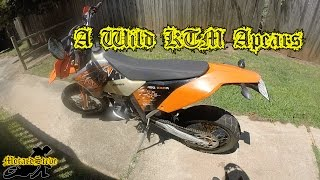 10. 2008 KTM 450 EXC Supermoto First Ride