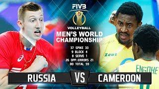 Video Russia vs. Cameroon | Highlights | Men's World Championship 2018 MP3, 3GP, MP4, WEBM, AVI, FLV November 2018