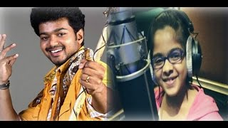 Uthara Unnikrishnan to sing a song for Vijay