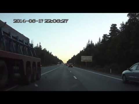 Авария на Минском шоссе