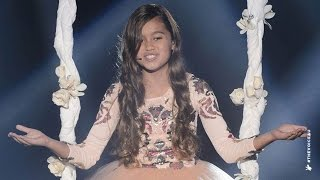 Alexa gave a poetic performance of Pocahontas' theme song.Go to www.thevoicekids.com.au for more news, videos and backstage galleries.