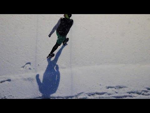 Σφοδρές χιονοπτώσεις σε Βουλγαρία και Αλβανία