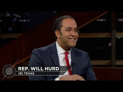 Congressman Will Hurd | Real Time with Bill Maher (HBO)