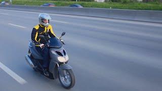 6. [МотоОбзоры] Aprilia Sportcity 250 - Дикий табурет | Выпу�к 8