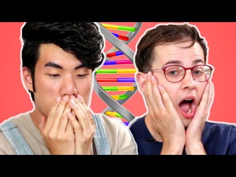 The Try Guys Take An Ancestry DNA Test (видео)