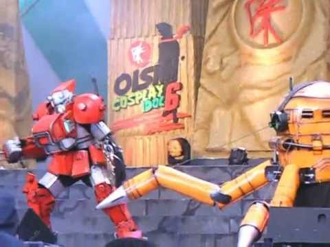 Oishi Cosplay 6 World Cosplay Summit : Team 12 – Cyberbots: Full Metal Madness