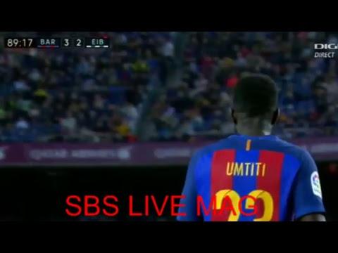 barcelone vs eibar   SBS SPORT
