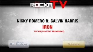Thumbnail for Nicky Romero ft. Calvin Harris — Iron (Original Mix)