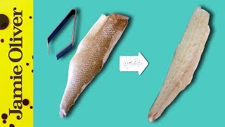 How To Remove Fish Bones | 1 Minute Tips | Bart's Fish Tales by Jamie Oliver