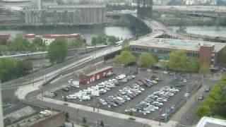 Steel Bridge area timelapse: April 27