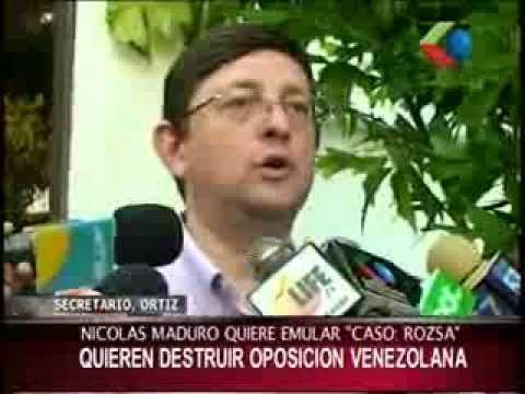 Oscar Ortiz se pronuncia sobre la violación a los Derechos Humanos en Venezuela