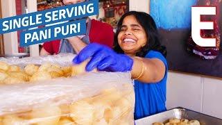 Pani Puri Is The Most Fun Street Food Around — Snack Break by Eater