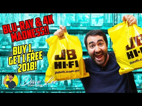 BLU-RAY & 4K MADNESS - Buy 1, Get 1 Free 2018 HAUL!!