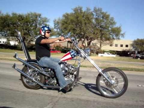 Captain American / Easy Rider Chopper Tribute