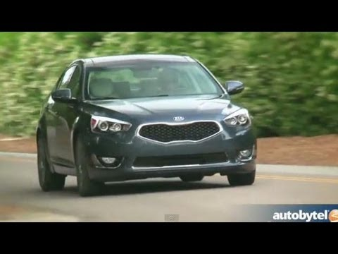 2014 Kia Cadenza Video Review