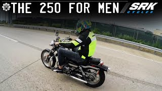 1. Is the Honda 250 Rebel Big Enough for a Man? (Highway)
