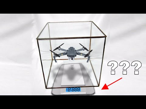 If You Fly a Drone in a Closed Box on a Scale, Will the Box Weigh Less?—Mind-Blowing Experiment!