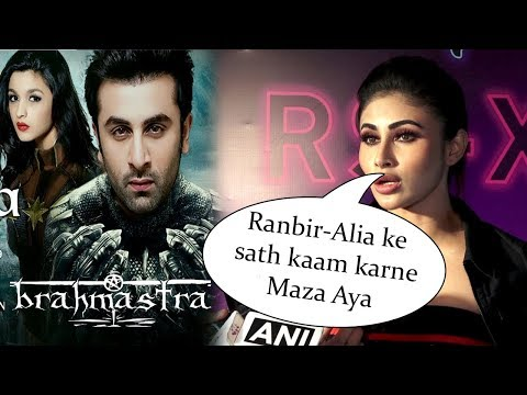 Mouni Roy REACTION On Working With Ranbir-Alia In Brahmastra Film