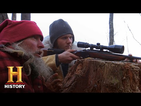 Mountain Men: Eustace and Raleigh Send Trespassers a Message (Season 8) | History