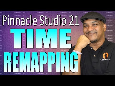 Pinnacle Studio 21 Ultimate | Time Remapping - Slow Motion Tutorial
