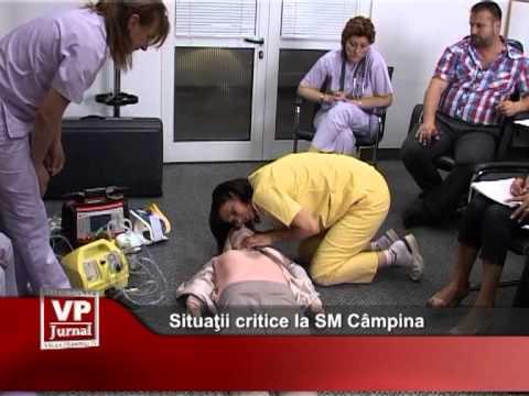 Situaţii critice la SM Câmpina