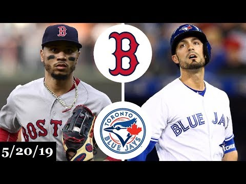 Boston Red Sox Vs Toronto Blue Jays - Full Game Highlights | May 20, 2019 | 2019 Mlb Season