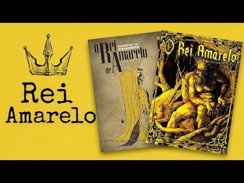 O Rei de Amarelo e O Rei Amarelo em Quadrinhos | Vai ler um livro