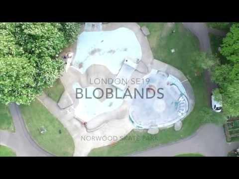 Bloblands Norwood Skate Park London Phantom3