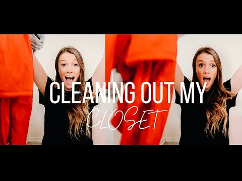 DECLUTTER MY CLOSET WITH ME! ||Minimalism Journey