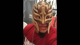 Exclusive: Rey Mysterio joins All Axxess Entertainment.com!!