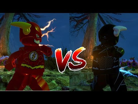 LEGO DC Villains: The Flash Vs Zoom Race!!