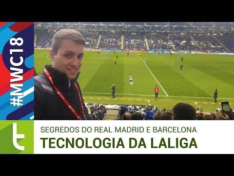 Real Madrid e Barcelona usam tecnologias da LaLiga para dominar o futebol  Vídeo do TudoCelular