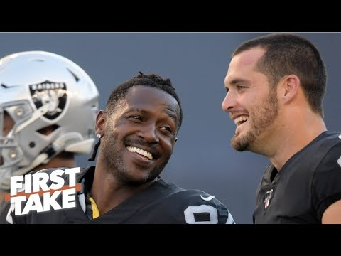 Video: Antonio Brown doesn't make the cut on Stephen A.'s top 5 wide receivers in the NFL | First Take