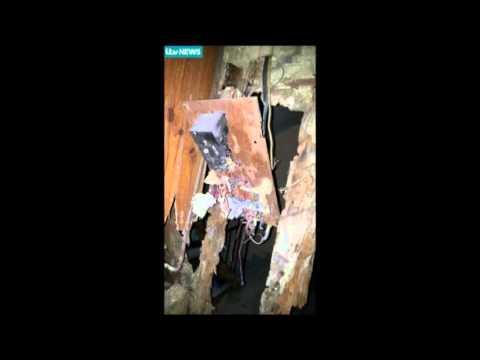 Les photos de l'appartement de Saint-Denis après l'assaut du Raid
